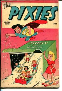 The Pixies #1 1946-ME-1st issue-1st Mighty Atom-52 pages-VG+