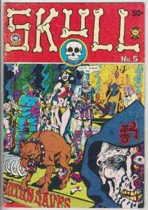 Skull #5 (Jan-72) FN/VF Mid-High-Grade