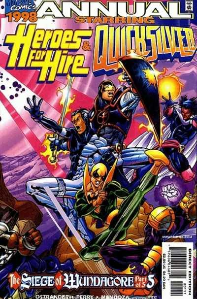 Heroes for Hire (1997 series) Annual #1998, NM + (Stock photo)