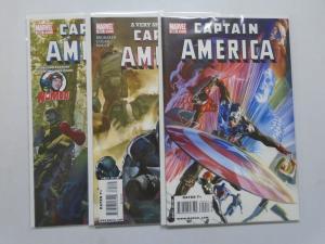 Captain America (5th Series) #600-602 - 8.0 VF - 2010
