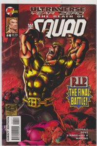 Ultraverse Year Zero The Death of the Squad #4