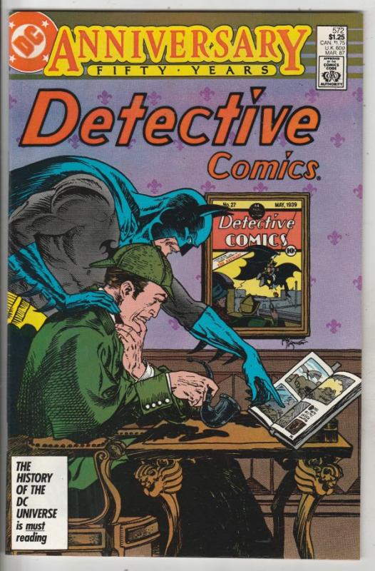 Detective Comics #572 (Mar-87) NM/MT Super-High-Grade Batman