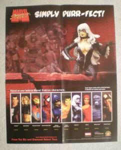 SIMPLY PURR-FECT! Promo Poster, BLACK CAT, 2004, Unused, more in our store