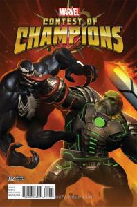 Contest Of Champions #2C VF; Marvel   save on shipping - details inside