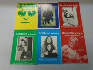 Beatlefan Magazine lot of 18 different John Lennon issues