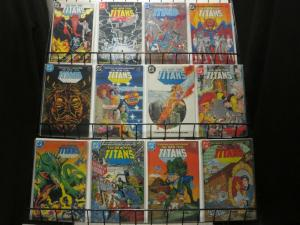 TEEN TITANS  (1984 BAXTER  1-49 Annual 1-4  COMPLETE !