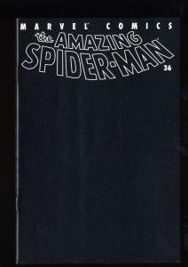 Amazing Spider-Man (1999) #36 VF/NM 9.0 9/11 World Trade Center Black Cover!