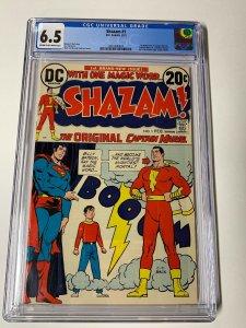 Shazam 1 Cgc 6.5 Dc Comics 1973