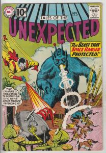 Tales of the Unexpected #67 (Nov-61) FN- Mid-Grade Space Ranger, Cyrl