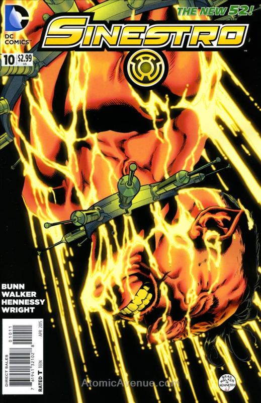 Sinestro #10 VF/NM; DC | save on shipping - details inside