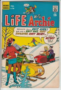 Life with Archie #93 (Jan-70) VF High-Grade Archie, Jughead, Betty, Veronica,...