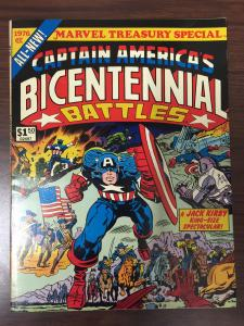 Marvel Treasury Special Captain America's Bicentennial Battles-1976-Marvel-Kirby