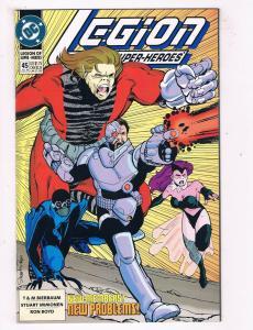 Legion Of Superheroes #45 NM DC Comics Comic Book Immonen Jul 1993 DE43 TW14
