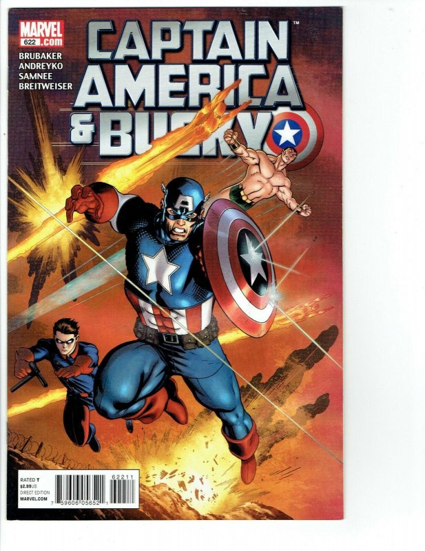 2011 Marvel Comics - Captain America and Bucky #622 NM-