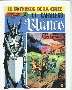 Facsimil: El Caballero Blanco numero 11: Los tartaros