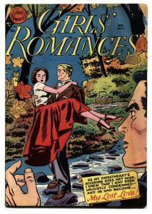 GIRLS' ROMANCES #12 comic book 1951-DC--CLASSIC ISSUE-g/vg