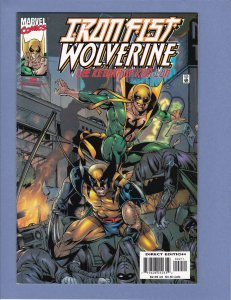 Iron Fist Wolverine #2 NM-