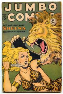 Jumbo Comics #114 1948- Matt Baker-SHEENA- no back cover