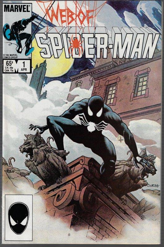 Web of Spider-man #1 (Marvel, 1985)