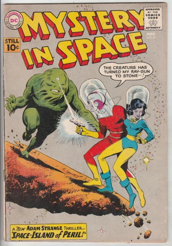 Mystery in Space #66 (Mar-61) VG/FN+ Mid-Grade Adam Strange