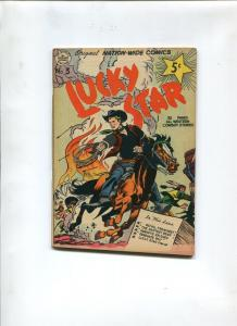 LUCKY STAR #3 1951-NATION WIDE COMICS-NM