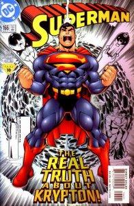 Superman #166 (ungraded) 2nd series stock image ID#B-4