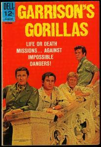 Garrison's Gorillas #4 1968-Dell TV Photo cover- WWII - FN
