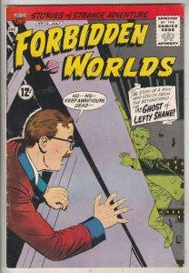 Forbidden Worlds #112 (Jul-63) VF High-Grade
