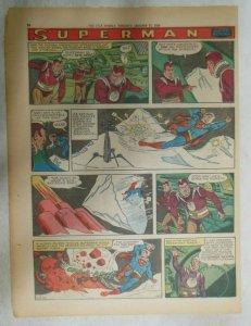 Superman Sunday Page #1003 by Wayne Boring from 1/18/1959 Tabloid Page Size