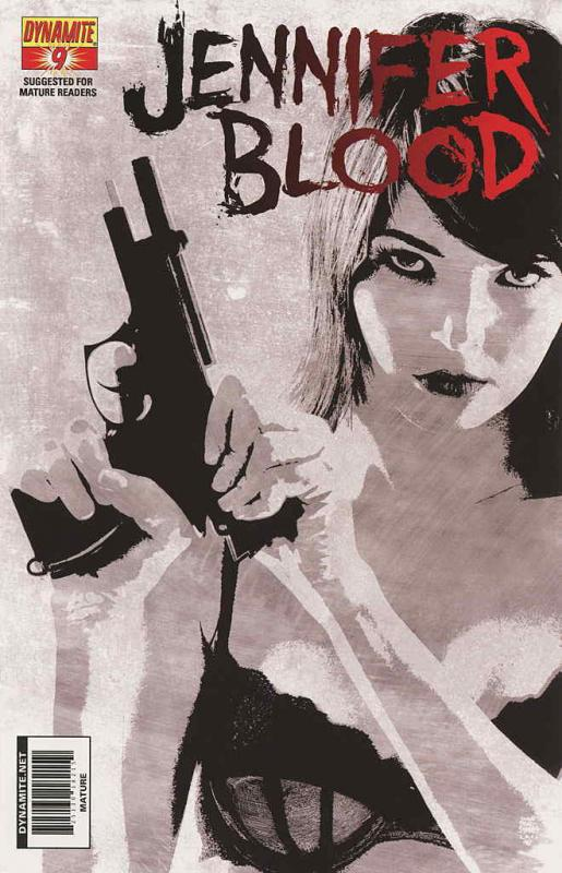 Jennifer Blood (Vol. 1) #9C VF/NM; Dynamite | save on shipping - details inside