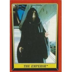 1983 Topps RETURN OF THE JEDI - THE EMPEROR #57