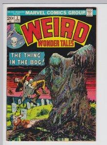 Weird Wonder Tales #3 (Apr 1973) 8.0 VF Marvel Horror