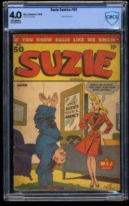 Suzie Comics #50 CBCS VG 4.0 Off White
