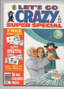 CRAZY #52 Magazine, VF/NM, Marlon Brando, Kiss, Hulk, 1973 1979, more in store
