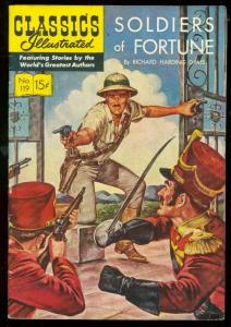 CLASSICS ILLUSTRATED #119 HRN 120-SOLDIERS OF FORTUNE FN