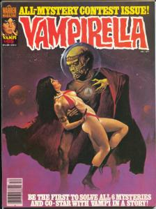 Vampirella #65 1977-Warren-spicy cover-Good Girl Art-VF-