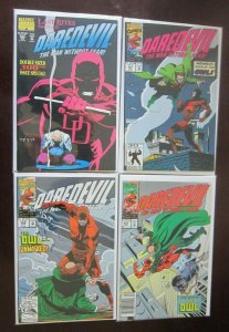 Daredevil comic lot from #300 end #342 all 27 different books 8.0 VF (1992)