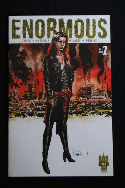 Enormous, #1, #2, Charlie Adlard Cover!