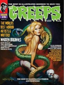 THE CREEPS #5 COMIC HORROR MAGAZINE