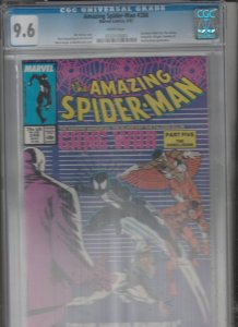 Amazing Spider-Man CGC #288 (May-87) NM+ Super-High-Grade Spider-Man