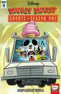 MICKEY MOUSE SHORTS SEASON ONE #4 Variant  NM