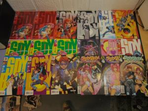 18 Spy Boy Dark Horse Manga Comic Books 8-16 Final Exam The Manga Affair MINT