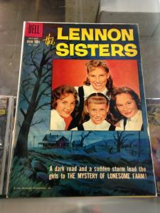 Dell Comics Four Color 1014  The Lennon Sisters VG-/VG (Alex Toth art)  July, 19