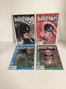 Inhumans 1 2 3 4 Complete Limited Lot Set Run Vf/Nm Very Fine/Near Mint 9.0