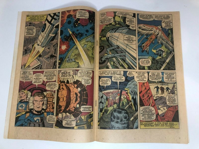 Fantastic Four #82 (1969) VG - The Mark of--the Madman!   White/Near White Pages