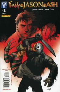 Freddy vs Jason vs Ash #3 VF; WildStorm   save on shipping - details inside