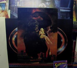 KING KONG POSTER 1977 ENRICH PAINTED FULL COLOR