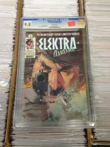 Elektra Assassin 2  CGC 9.8 (Sept. 1986) Frank Miller