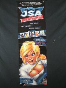JSA Classified DC Comics Promo Poster 2005 POWER GIRL 34x11