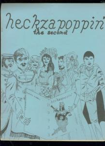 HECKZAPOPPIN' COMIC FANZINE #2-DECDLINE OF THE AVENGERS FN
